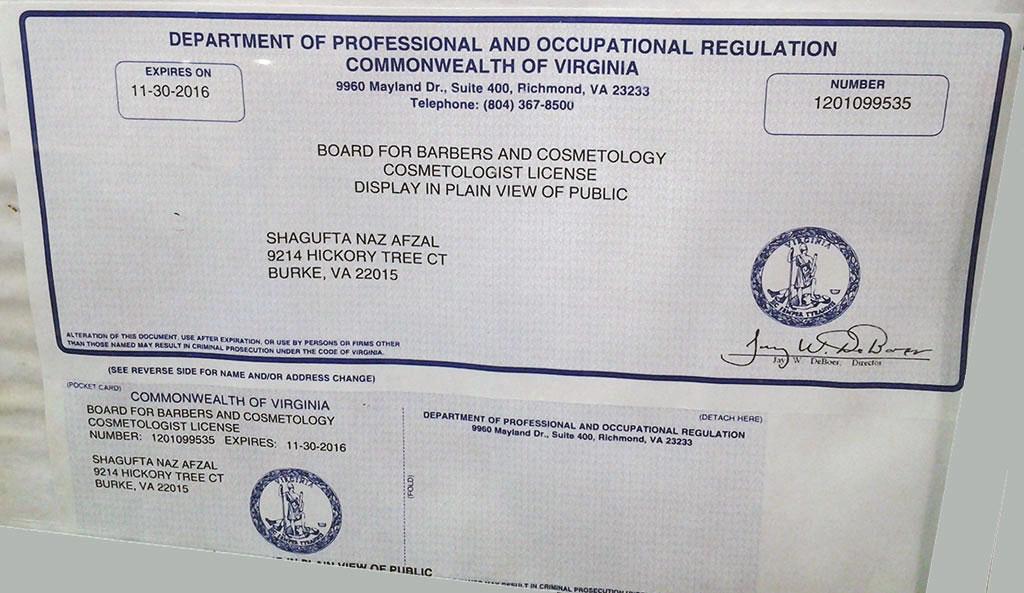 Certification – Fair Price Woodbridge