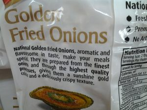 Golden Fried Onions